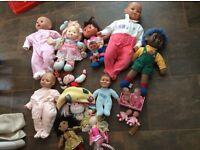 Toy doll dolls, some talking / make sounds - bundle - Wirral