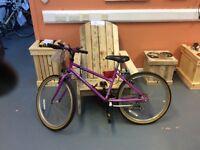 Raleigh Isis Girls Bike.