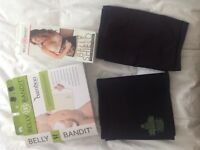 Belly Bandit Black Bamboo and Belly Shield