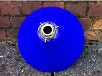 Blue Glass Coulis Lampshade