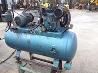 air compressor /3 phase ingersolrand workshop compressor 200 litre