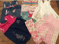 Bundle Of Baby Girl Clothes Size 0-3 Mostly Next