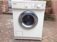 A Miele Novotronic W844 washing machine