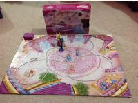 Disney Cinderella Glass Slipper game and Musical Floor Puzzle