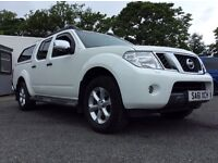 2011 (61) NISSAN NAVARA 2.5DCI *AUTOMATIC* TEKNA, FULL LEATHER INTERIOR, FULL SERVICE HISTORY