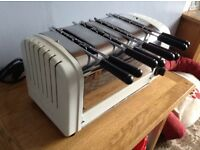 Dualit 4 slot sandwich toaster in great condition