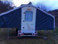 Trailer tent. 'Dandy' 4 berth (2 double bunks) for sale