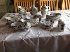 Dinner Set. Johnston Brothers(Indies) 8 place setting