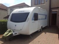 2012 Sprite Alpine 4 berth caravan with motor mover porch awning plus more