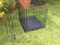 One door dog crate for sale