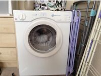 White Knight 3kg vented tumble dryer slight dent in top but works fine