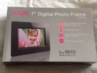 Brand New Logik 7ins Digital Photo Frame.