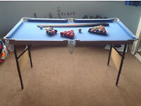 Kids portable pool - snooker table - Ferndown