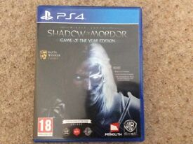 PS 4 game, Shadow of Mordor