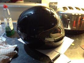 Moter bike crash helmet