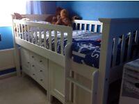 M&S Sleepstation bed white