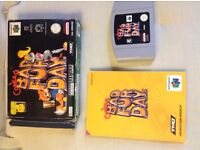 N64 Game - Conkers Bad Fur Day
