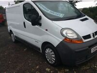 2005 RENAULT TRAFIC VAN 1,9 FULL YEARS MOT *ELECTRIC PACK* NEW TIMIMG BELT KIT ONE MONTHS WARRENTY