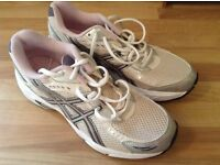 Used briefly. Asics 7 ladies trainers