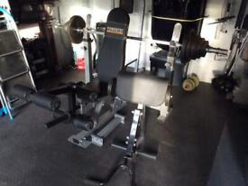 Olympic weight bar,bench and weights