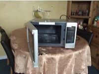 Murphy Richards silver es 23 Ltd combi microwave