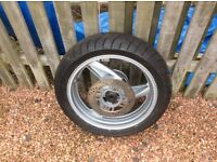 Used Bridgestone 160/60 R17 motorcycle tyre for sale