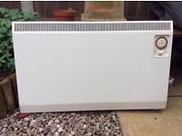 Electric wall mounted heater