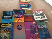 Nine Media books for a student studying this subject in September
