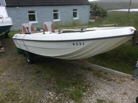 Fishing Boat/ Pleasure Boat - Angelo Molinari 410 plus Trailer