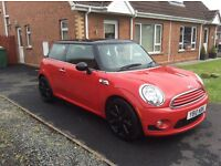2010 (June) Mini Cooper 1.6 ..Stunning Red colour coded finish