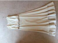 Ladies Cream linen 3 piece lightweight suit