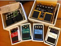 BOSS Effects Pedals and Carry Case