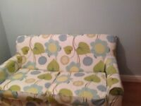 Bed Settee covers Sofa M&S Newly made Bold pattern