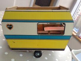 Sindy vintage caravan.