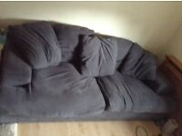 Grey scatter cushion sofa