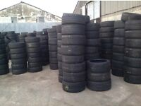 Second hand tyres/ clearance sale any tyre any size from £6.50