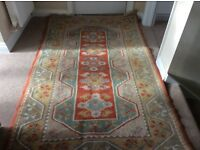 Rug for sale approx length 7ft X width 4ft. Various colours. In good condition