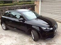 Audi A1 TDI SE 1.6 black, extras-Bluetooth interface, 3 spoke leather multi-function sports wheel.