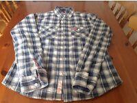 Men's Superdry long sleeved shirt