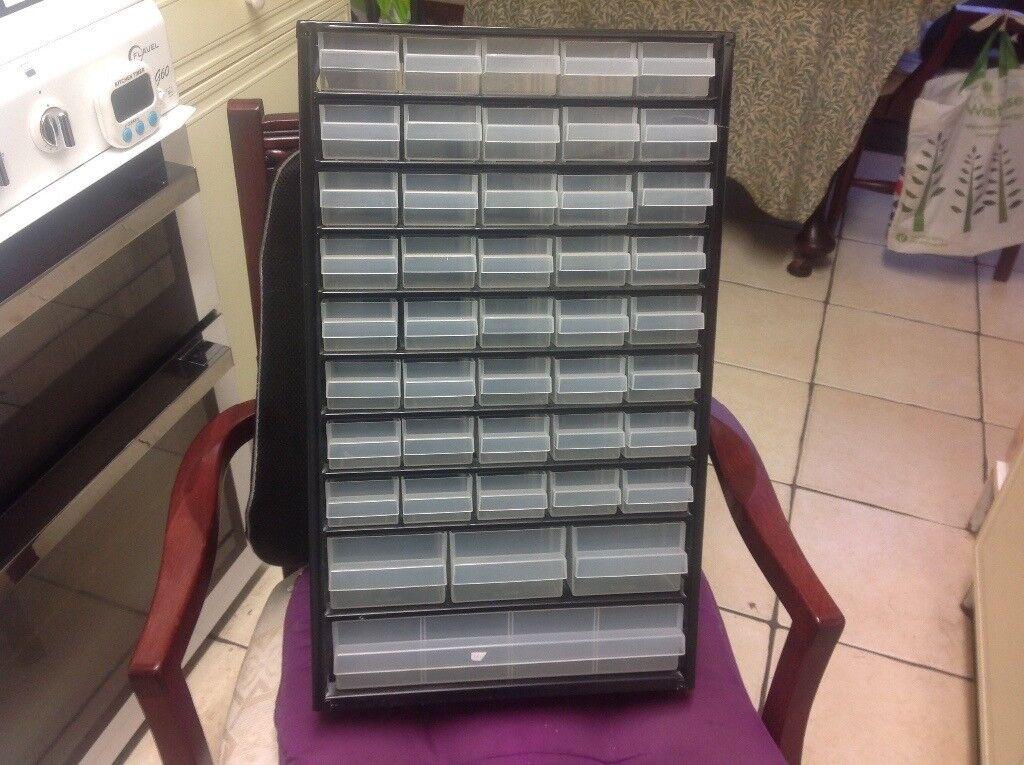 New Raaco 44 drawer organizer cabinet
