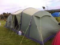 Vango Airbeam Centara 800 Tent + Footprint + Manual Pump + Digital Electric Pump