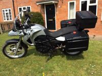 BMW F650 GS 2010 (10) - Factory lowered ride height model for sale  Taunton, Somerset