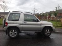 Shogun panin attivo, one owner. Mileage only 90,500,very reliable ,one owner
