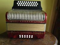 Horner A/D/G melodeon, button accordion