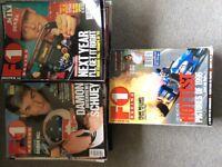 F1 Racing magazines Dec 1996 - Apr 2001 plus extras