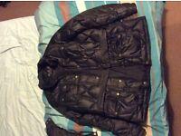 Genuine Barbour ladies winter jacket.