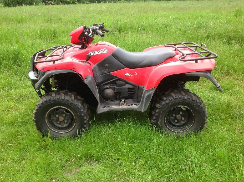 suzuki king quad 750 power steering 4x4 farm quad 39 10 39 in holme on spalding moor north. Black Bedroom Furniture Sets. Home Design Ideas