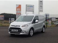 2014 NOV FORD TRANSIT CONNECT LIMITED. TOP SPEC AND STUNNING LOOKING VAN WITH 1 OWNER AND ONLY 30K