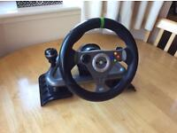 Madcatz Wireless Xbox 360 Steering Wheel