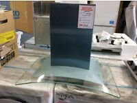 Beko glass and stainless steel cooker hood 70 cm new graded 12 mth gtee RRP £169